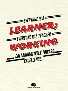 Leading Learning Quote